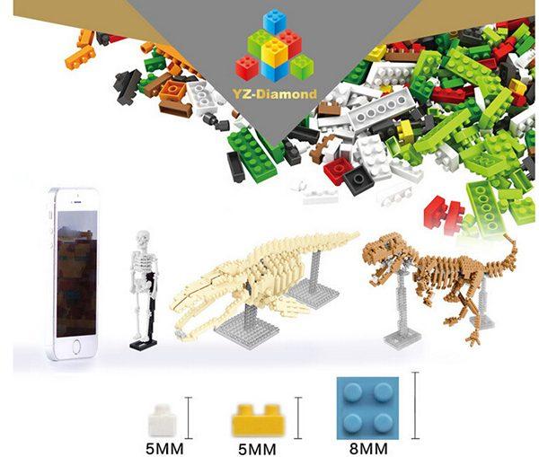 DIY Skeleton blocks