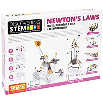 S.T.E.M Newton's Laws - Inertia, Momentum, Kinetic & Potential energy
