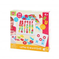 Letter & Word Grid toy