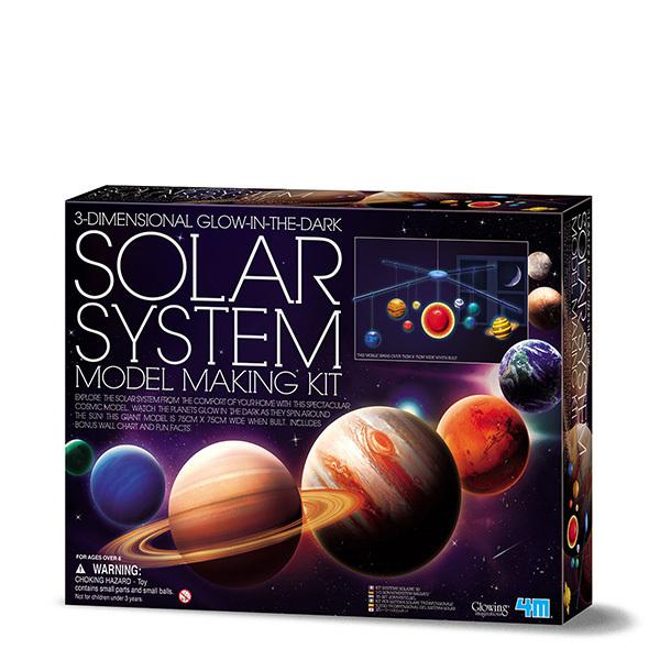 4M Solar System Model Making Kit