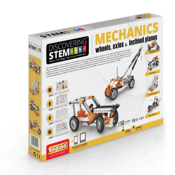 S.T.E.M Mechanics - Wheels, Axles & Inclined Planes