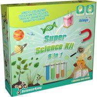 Super Science Kit 6 in 1