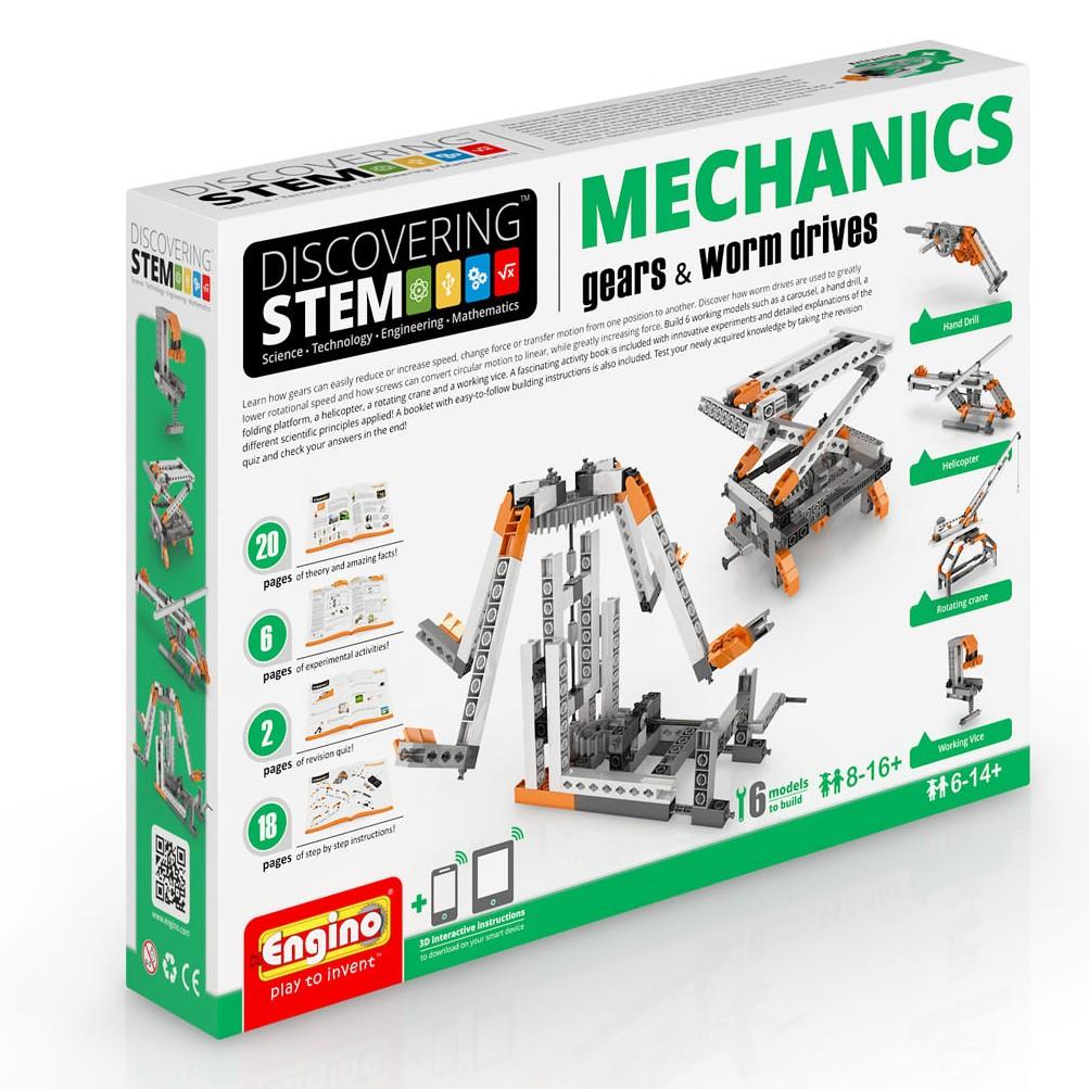S.T.E.M Mechanics - Gears & Worm Drives