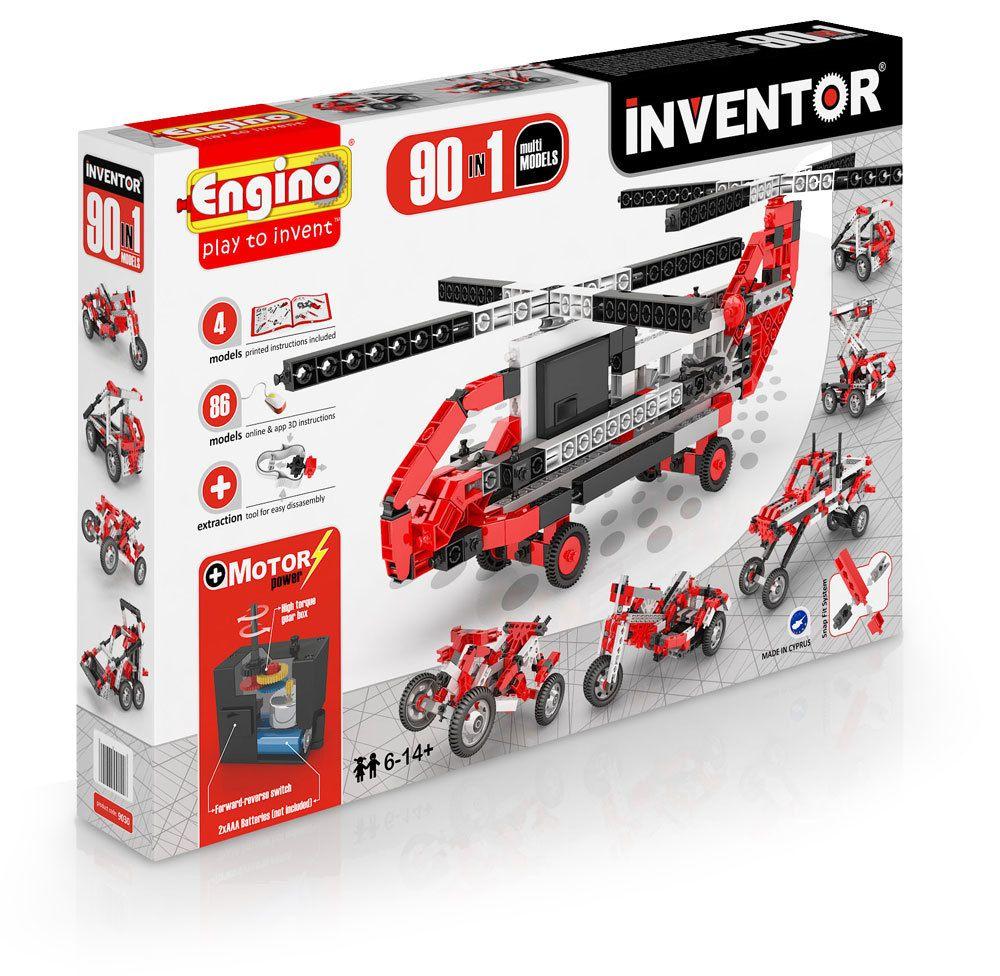 ENG Inventor - 90 Models Motorised Set