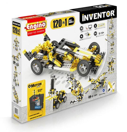 ENG Inventor - 120 Models Motorised Set