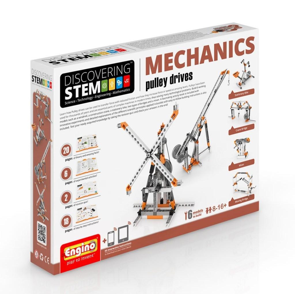 S.T.E.M Mechanics - Pulley Drives