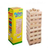 Jenga Wooden Tower Blocks Game